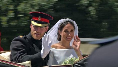 Hôn lễ hoàn hảo của cặp đôi Hoàng gia Anh