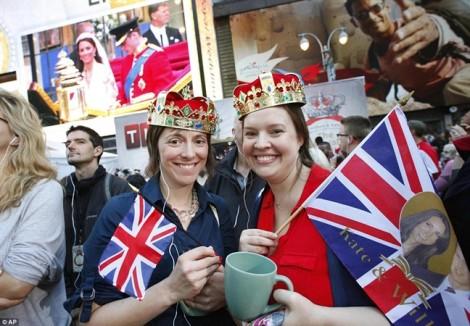 Lễ cưới Hoàng gia Anh: 'Bữa tiệc' chúc phúc từ người dân Anh