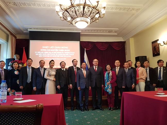 Bi thu Thanh uy TP.HCM Nguyen Thien Nhan: 'Hay lam song dong quan he Viet Nam - Nga'