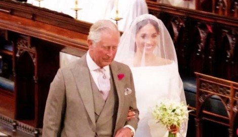 Bốn khoảnh khắc lịch sử tại lễ cưới Hoàng gia Anh