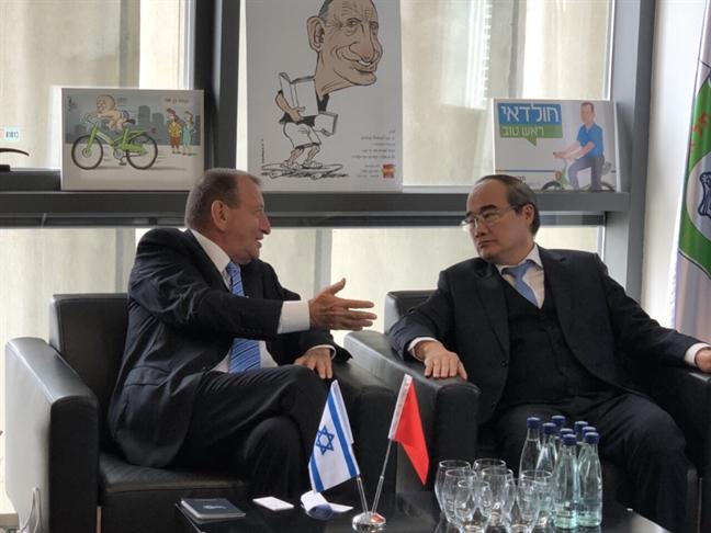 TP.HCM hoc hoi Israel kinh nghiem xay dung do thi thong minh