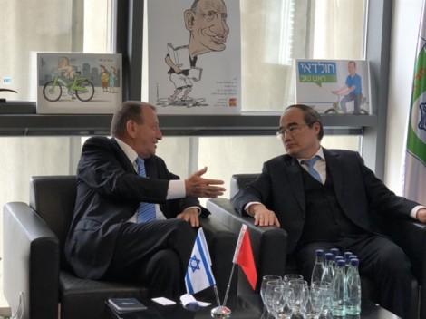 TP.HCM học hỏi Israel kinh nghiệm xây dựng đô thị thông minh
