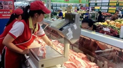 Giá thịt heo tại TP.HCM tăng mạnh