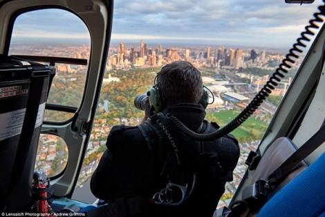 Quang cảnh tuyệt đẹp từ trên không của New York, London và Sydney