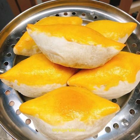 Mẹ đảm chia sẻ công thức bánh nướng sầu riêng độc lạ, đẹp thơm khó cưỡng