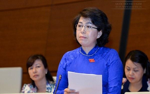 Dai bieu Quoc hoi To Thi Bich Chau (TP.HCM): Bao Phu Nu da cung cap mot goc tiep can su that kha bat ngo ve vu 'ca phe pin'