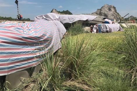 Khởi tố hai nhân viên gác chắn trong vụ lật tàu hỏa ở Thanh Hóa