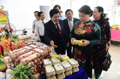 Chủ tịch Quốc hội Nguyễn Thị Kim Ngân thăm công ty cổ phần Ba Huân