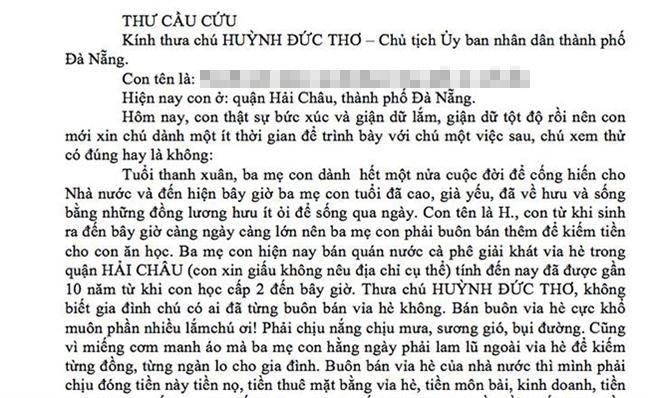 Chu tich Da Nang yeu cau xu ly 'may chu quy tac' voi tien dan ngeo