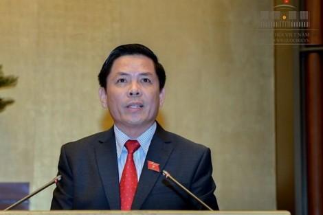 Bộ trưởng Nguyễn Văn Thể sẽ trả lời chất vấn sau ồn ào vụ đổi 'trạm thu phí' thành 'trạm thu giá'