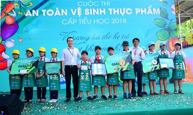 Sua Co Gai Ha Lan dong hanh cung hoi thi Ve sinh an toan thuc pham 2018