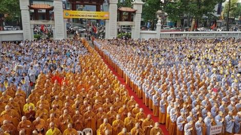Đại lễ Phật đản Phật lịch 2562: Đạo pháp mãi sáng ngời trong lòng dân tộc