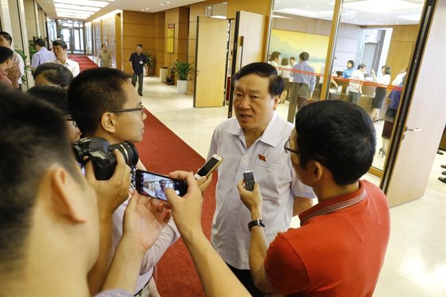 Chanh an TAND Toi cao Nguyen Hoa Binh: Toi tin Hoi dong xet xu se co phan quyet dung dan vu bac si Hoang Cong Luong