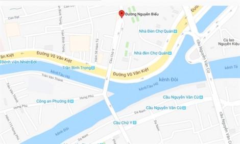 TP.HCM: Từ ngày 2/6 cấm ô tô trên 8 tấn qua nhánh cầu chữ Y đường Nguyễn Biểu