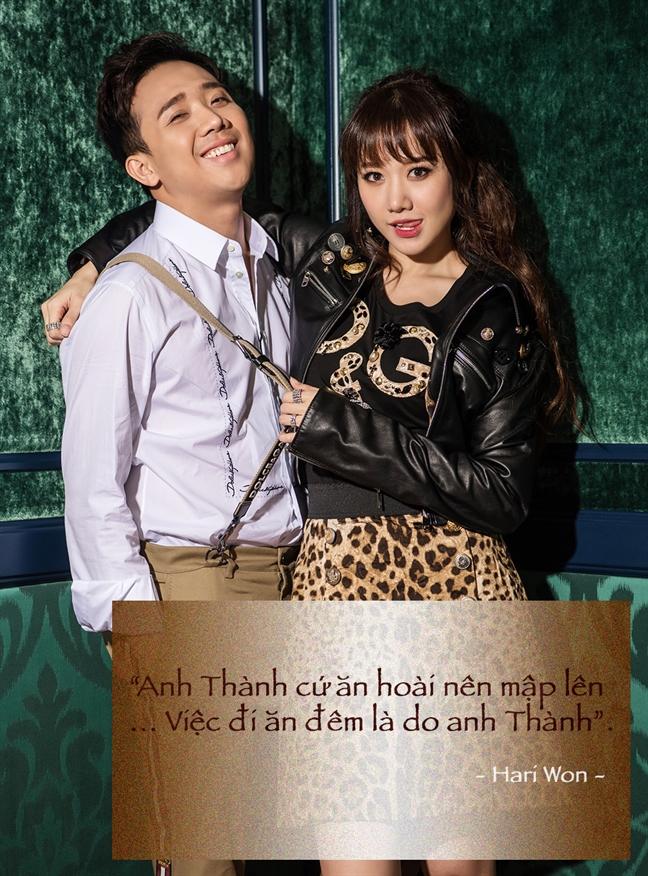 Nhung dieu Hari Won nghi ve Tran Thanh sau 17 thang ben nhau