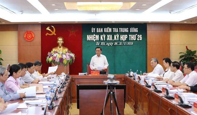 Uy ban Kiem tra Trung uong ket luan sai pham o Mobifone, BIDV, Bo Thong tin va Truyen thong