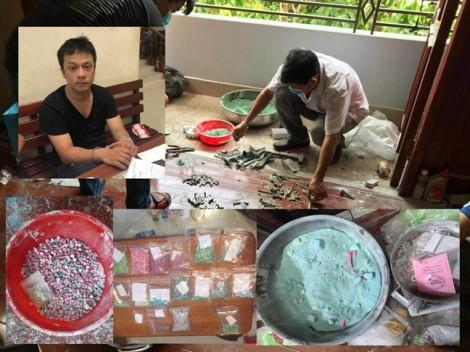 Triệt phá đường dây sản xuất ma túy 'khủng' ở Sài Gòn