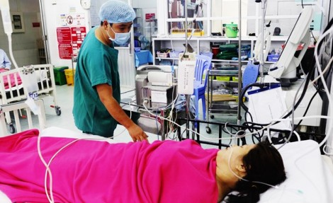 Thai phụ ở Cần Thơ vỡ tử cung khi mang thai tháng thứ 6