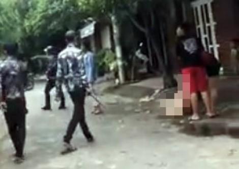 Cô gái bị đánh ghen giữa đường nghi có giang hồ 'bảo kê'