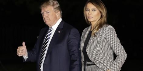 Đệ nhất phu nhân Melania Trump tái xuất, xóa tan tin đồn Nhà Trắng lục đục