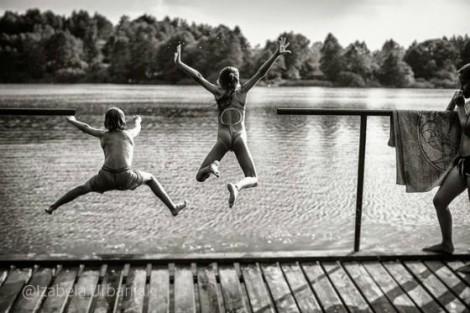 Ngày hè hồi nhỏ