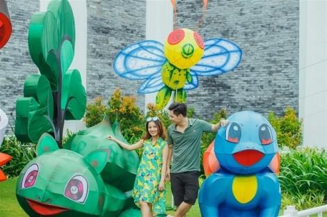 Miễn phí vào cửa cho 200 trẻ em mỗi ngày trong tuần đầu khai trương Lễ hội đèn lồng