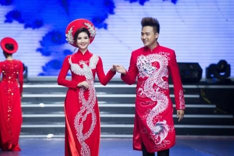 Mẫu áo dài cưới truyền thống đẹp cho cặp đôi mùa cưới 2018