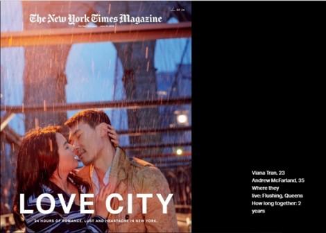 Những nụ hôn ở New York