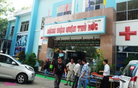 Một bệnh nhân mắc cúm A/H1N1 suy hô hấp nặng được chuyển vào Bệnh viện Chợ Rẫy