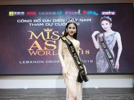 Nguyễn Thị Chi được cấp phép dự thi Hoa hậu châu Á Thế giới