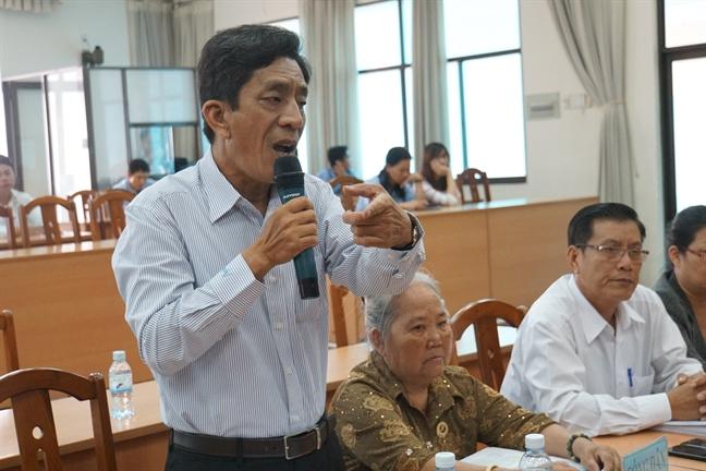 Dan Thu Thiem moi trau Truong ban tiep cong dan Trung uong, dat niem tin vao quyet dinh dung dan