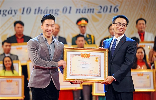 Quoc Co - Quoc Nghiep - nac thang moi: gia dinh