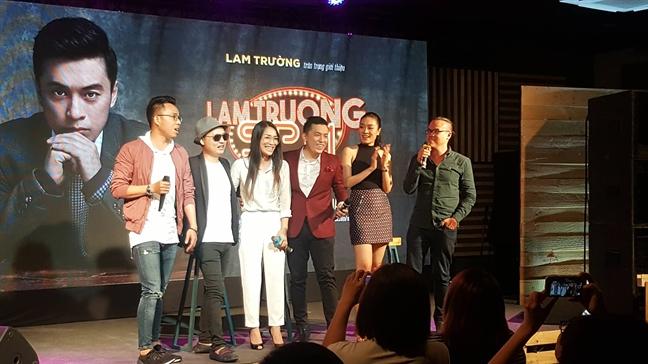 Ca si Hong Ngoc: 'Lam Truong la ca si di len bang thuc luc'