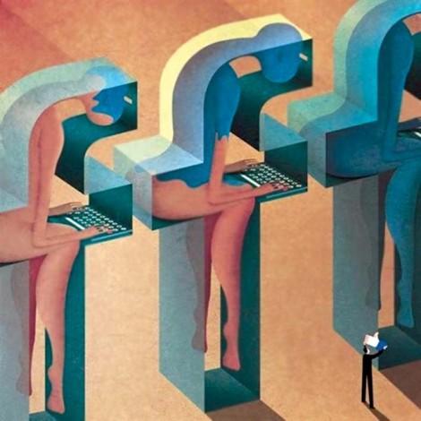 Đừng cúi đầu khi ngồi trước nhau
