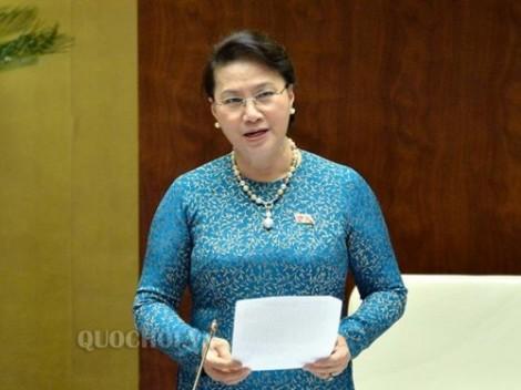 Chủ tịch Quốc hội kêu gọi nhân dân cả nước bình tĩnh, không tụ tập đông người