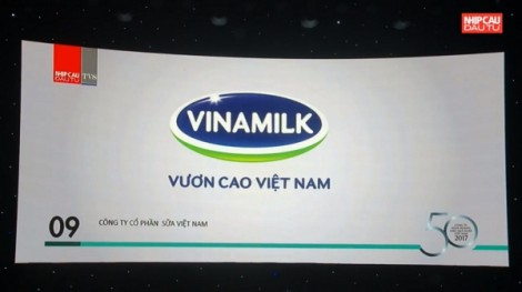 Vinamilk liên tục nhận được các bình chọn xuất sắc trong lĩnh vực kinh doanh trong sáu tháng đầu năm 2018