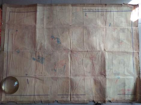 Lộ diện bản đồ địa chính liên quan đến khu vực chôn cất các phi tần vợ vua Tự Đức