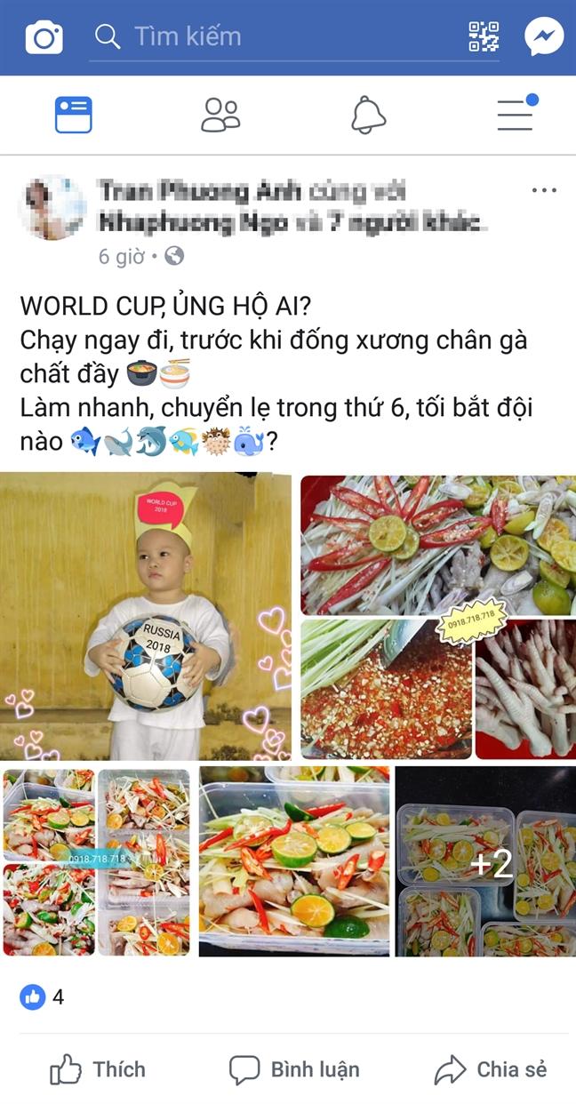 An dem 'tan cong' World Cup