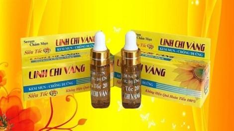Serum Chấm Mụn siêu tốc 20h Linh Chi Vàng – Chất lượng vàng xu hướng làm đẹp của phụ nữ Việt