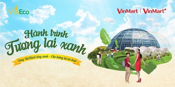 'Hanh trinh tuong lai xanh' cung VinMart va VinMart +