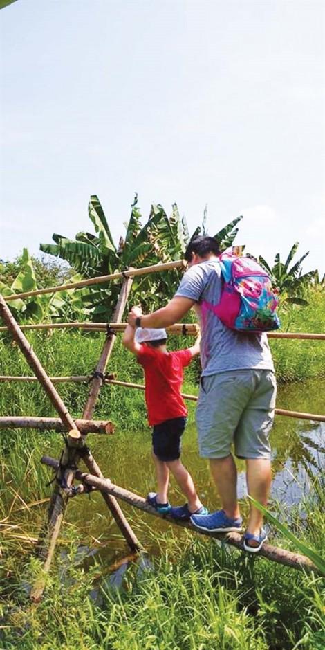 Trẻ Sài Gòn chơi nông trại ở đâu?