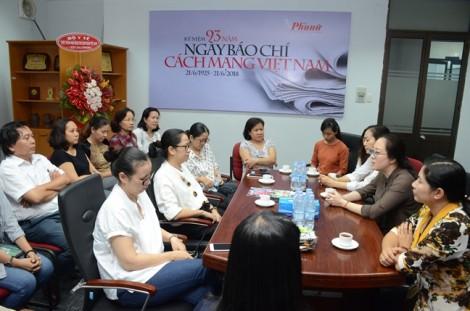 Chủ tịch Hội LHPN TP mong báo Phụ Nữ luôn dũng cảm, đi đến cùng lý tưởng nghề báo