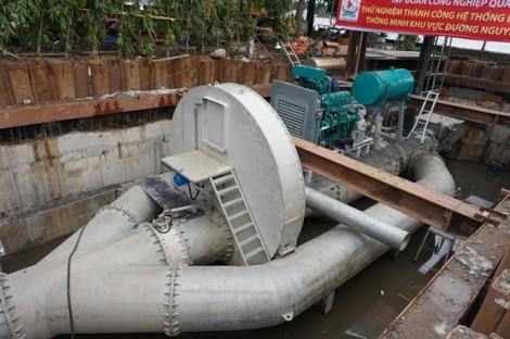 Đề xuất dùng máy bơm 'khủng' chống ngập sân bay Tân Sơn Nhất