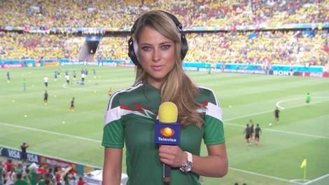 5 nữ phóng viên tài sắc 'gây rối' ở World Cup 2018