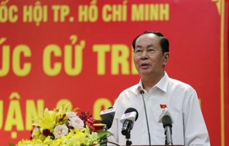 Chủ tịch nước Trần Đại Quang: Luật An ninh mạng sẽ bảo vệ an ninh quốc gia, bảo đảm trật tự an toàn xã hội