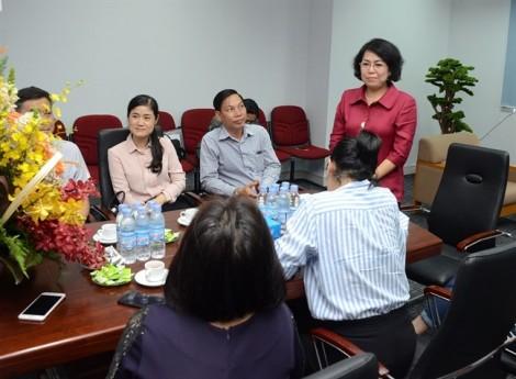 Lãnh đạo TP.HCM mong Báo Phụ Nữ giữ vững cốt cách và luôn đầy sức chiến đấu