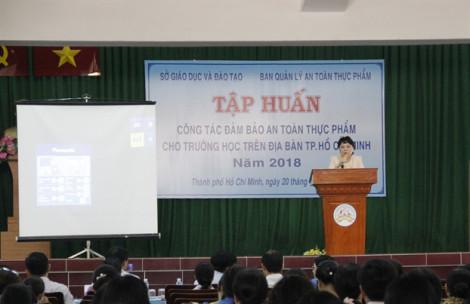TP.HCM: Tập huấn công tác an toàn thực phẩm trong trường học