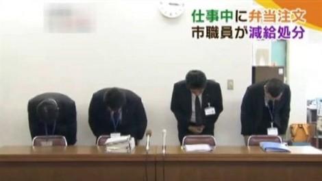 Nhân viên Nhật Bản bị phạt vì ba phút 'ăn gian'