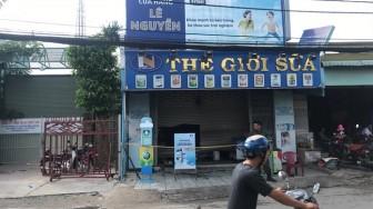 Cháy xe máy trong cửa hàng, chồng chết vợ nguy kịch