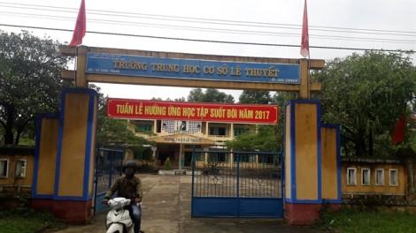 Bắt giam kẻ bịt mặt lẻn vào trường dùng dao khống chế cưỡng hiếp giáo viên